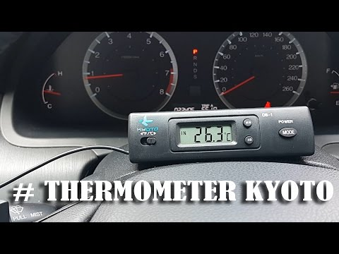 Thermometer AC MOBIL kyoto.