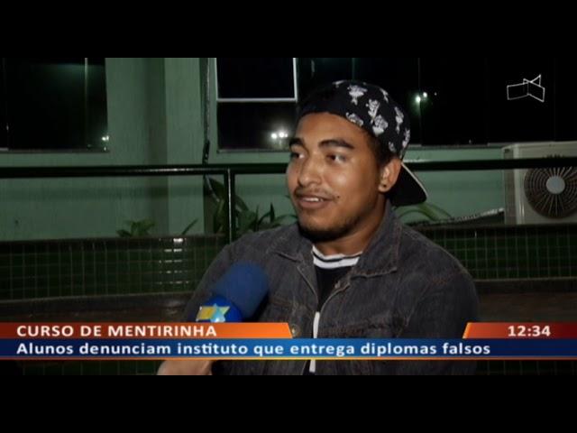 DF ALERTA - Dona de curso denunciada por entregar diplomas falsos