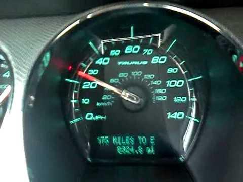 2011 Ford Taurus Sho 0 60 Youtube