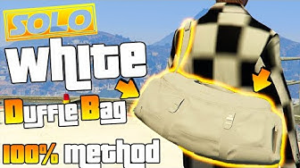 GTA 5 ONLINE | HOW TO GET WHITE DUFFLE BAG 100% METHOD | SOLO | DIRECTOR MODE | PS4 XBOX1 1.50