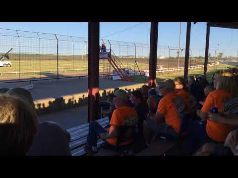 Chris & Colin Heim IMCA Stock Car Wakeeney Speedway 7 1 18