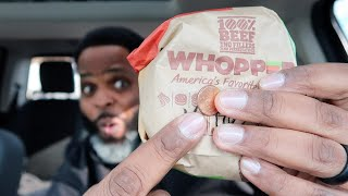 Burger King Whopper Detour - WHOPPER FOR A PENNY!!