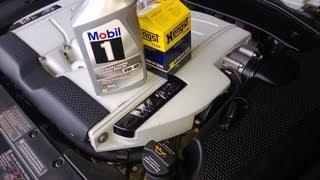 DIY: VW PHAETON W12 oil change