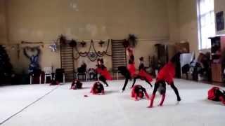 Наши Гимнастки!. на видео Тонечка 2007год(Наши Гимнасточки