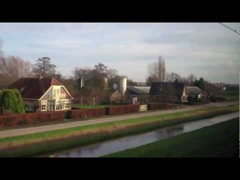 Veenandaal-de Klomp to Arnhem Centraal (views from a train), Holland - 30th December, 2012