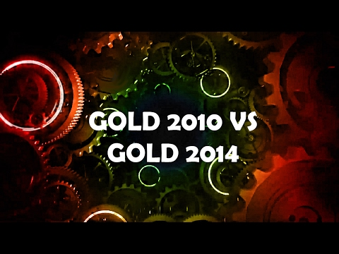 Doctor Who Theme Remix: Gold 2010 VS Gold 2014
