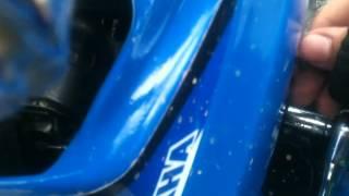 slp-pipes-installed Yamaha Blaster Performance Parts