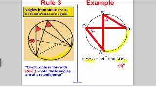 Circle Theorems - GCSE Maths Higher