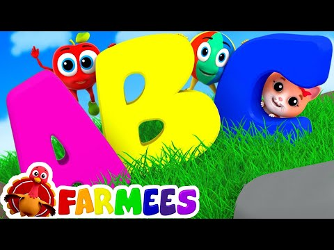 The Phonics Song | ABC Song | Learn abc | Learning abc | abc songs for kids by Farmees S02E157