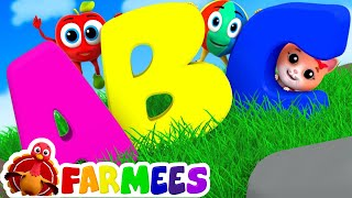the phonics song abc song learn abc abc songs for kids by farmees