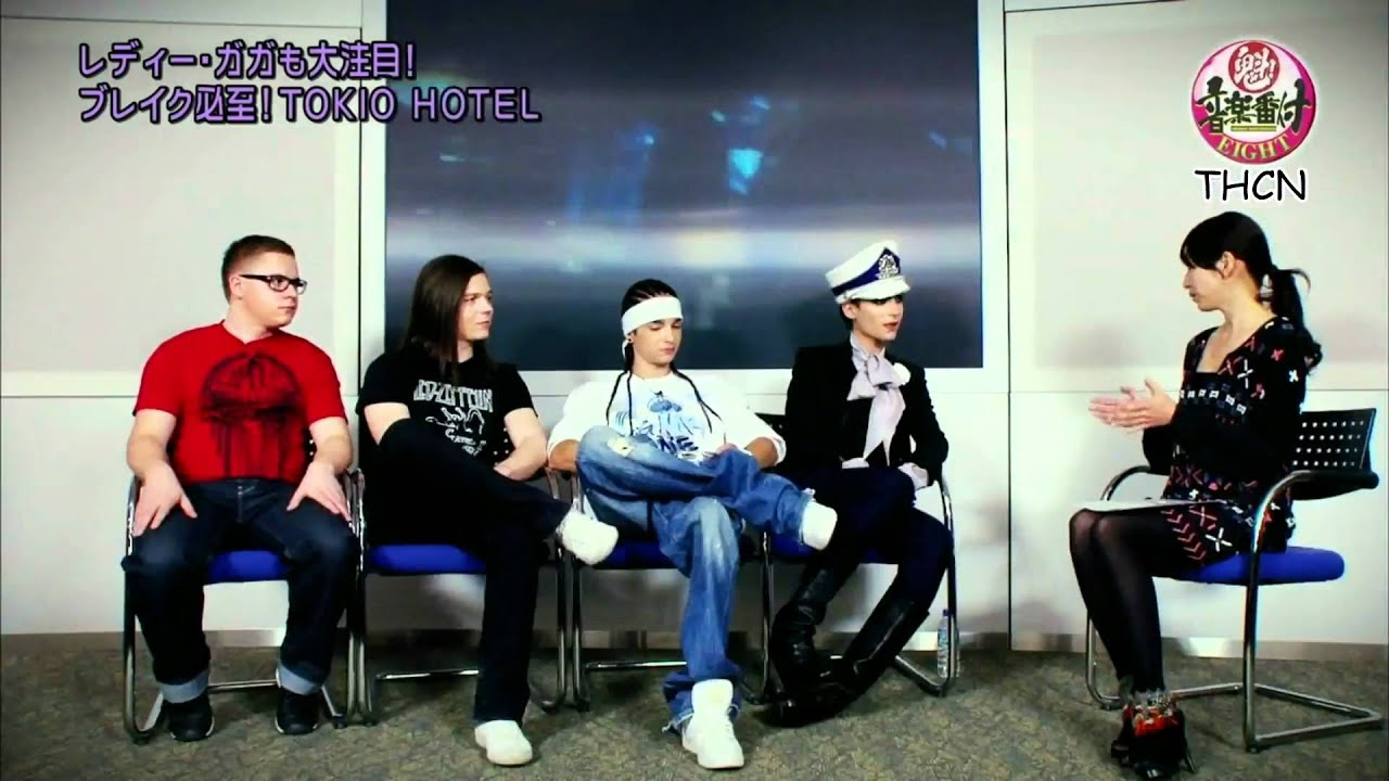 Fuji Tv Interview With Tokio Hotel - Sakigake Music