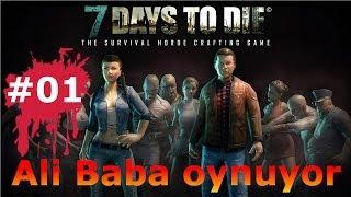 oynuyoruz 7 days to die bolum 01 minecraft ve warz karışımı