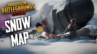 PUBG Mobile | Snow Map Beta | White Ghillie Suit