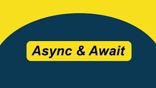ASYNC + AWAIT (or How To Write Syncronous Looking Code, Without The Wait)
