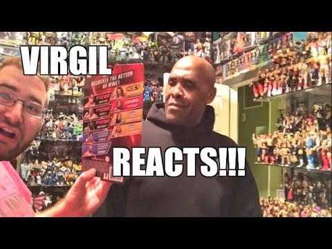 VIRGIL REACTS TO GRIMS TOY SHOW WWE FIGURE COLLECTION!
