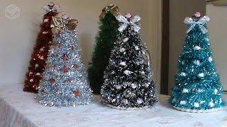 Dicas de Arvore de Natal Fácil e Barato – Decoração