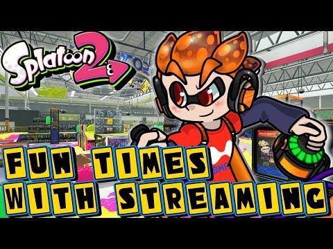 Fun Times With Streaming! | Splatoon 2 Private Battles and Mini-games With Mike!