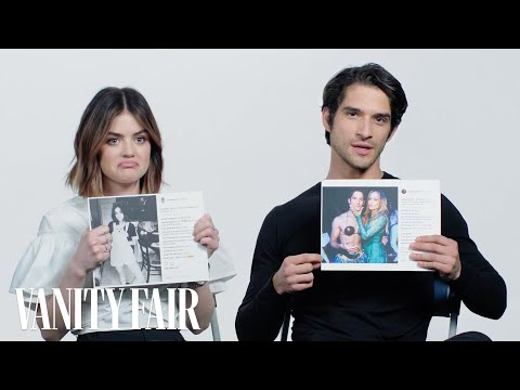 Lucy Hale and Tyler Posey Explain Their Instagram Photos | V