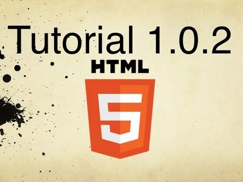 HTML5 Tutorial 1.0.2 | Opening HTML Files