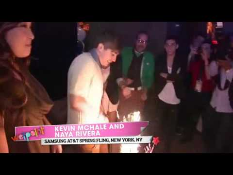 Kevin McHale Celebrates His Birthday at the 2011 Samsung AT&T Spring Fling