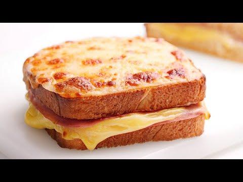 Sandwich Croque Monsieur | Receta súper Fácil y Rapidísima!