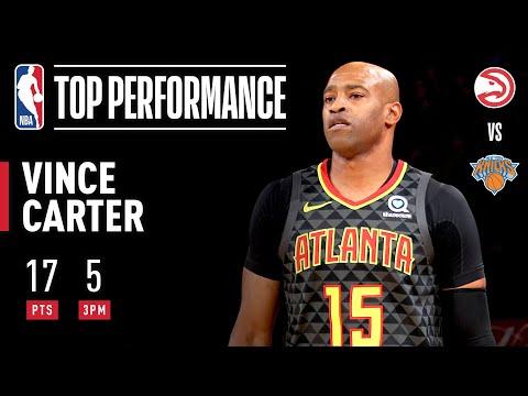 Vince Carter ELECTRIFIES In MSG!   2019 NBA Preseason