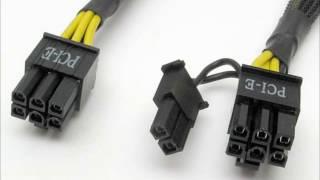 Fazendo cabo 6 e 8 pinos para placas de video