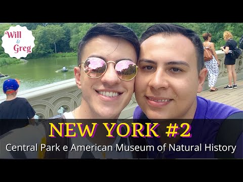NEW YORK #2 - Central Park | American Museum of Natural History |NYC|VLOG|