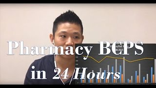 Pharmacy BCPS Certification | 24 hours studying | My Office