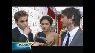 Paul Wesley & TVD CAST interview at the 50th Monte Carlo TV Festival 2010/6/10