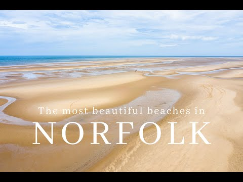 The most beautiful beaches in Norfolk