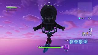 * NEW * FORTNITE BUG, I went to the ice storm and look where I ended up. (Bug of the game)