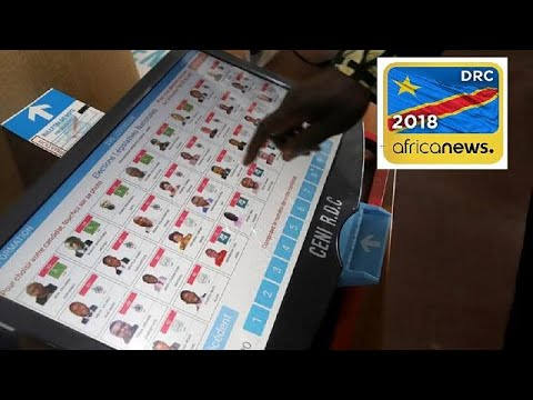Days to polls: DRC opposition protest web-enabled voting machines