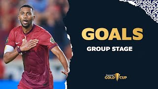 All the goals of the Gold Cup 21 Group Stage