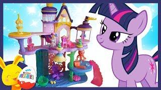 Le Chateau du Petit Poney et de la Princesse Sirène - Histoire de jouets - Touni Toys Titounis