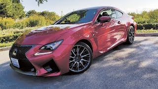 2017 Lexus RC-F: Big V8 Coupe Makes All The Right Noises
