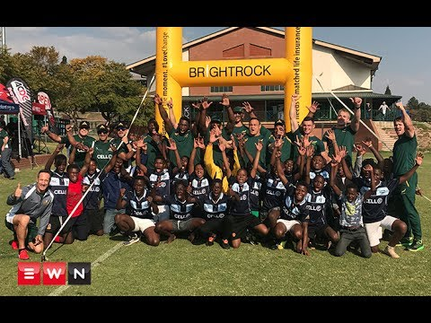 Springboks teach scholars a thing or two about rugby