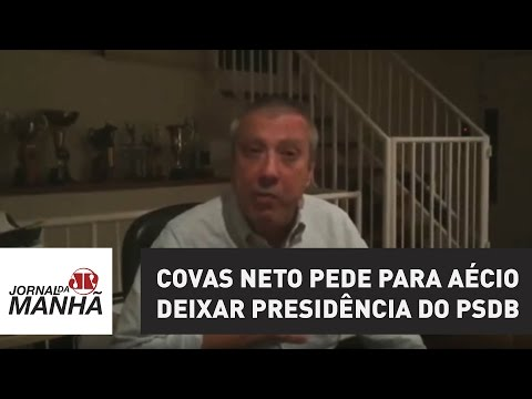 Mario Covas Neto pede para Aécio Neves deixar Presidência do PSDB