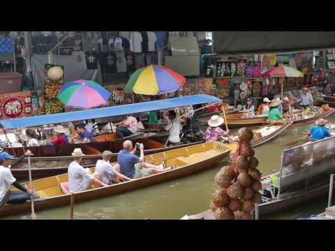 Thailand - canals and silk