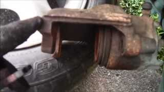 How to Remove Install Brake Pads - Mercury Mystique / Ford Contour 1995-2000