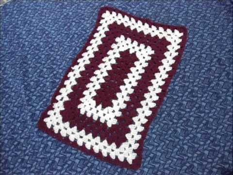 Crochet Rectangle Table Cloth YouTube