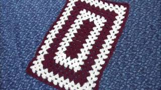 Crochet Rectangle Table Cloth