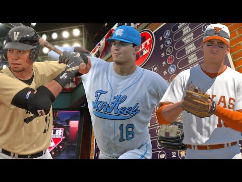 NCAA And High School Baseball In MLB The Show 20 - MLB The Show 20 Rangers Franchise - | Ep.4