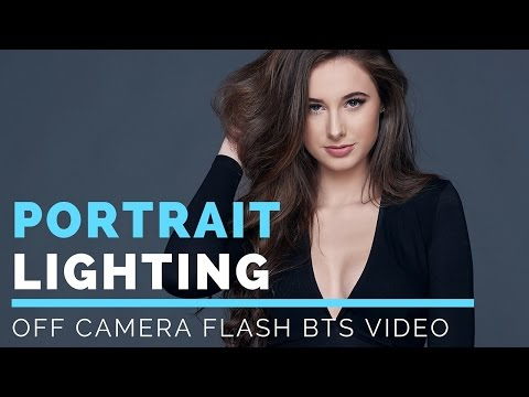 Photography Portrait Lighting Techniques | Off Camera Flash Portrait Photography