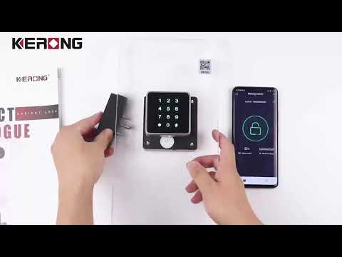 Fingerprint Drawer Lock Digital Keypad Lock for Cabinet