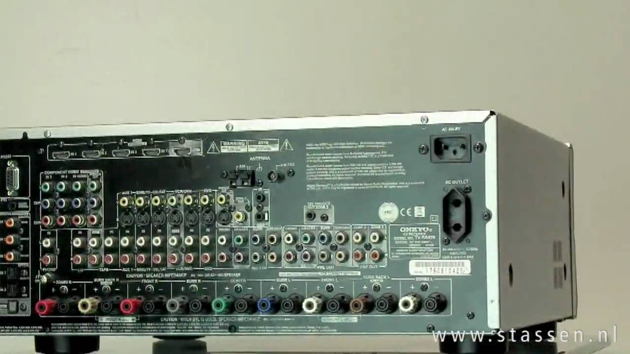 onkyo tx sr875 youtube rh youtube com Onkyo TX SR806 HDMI Problems Onkyo TX SR806 Photo Back