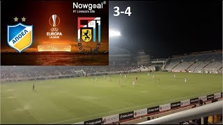 APOEL FC vs DUDELANGE 3-4