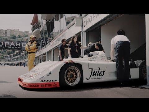 Porsche icons at the Monaco Grand Prix Historique