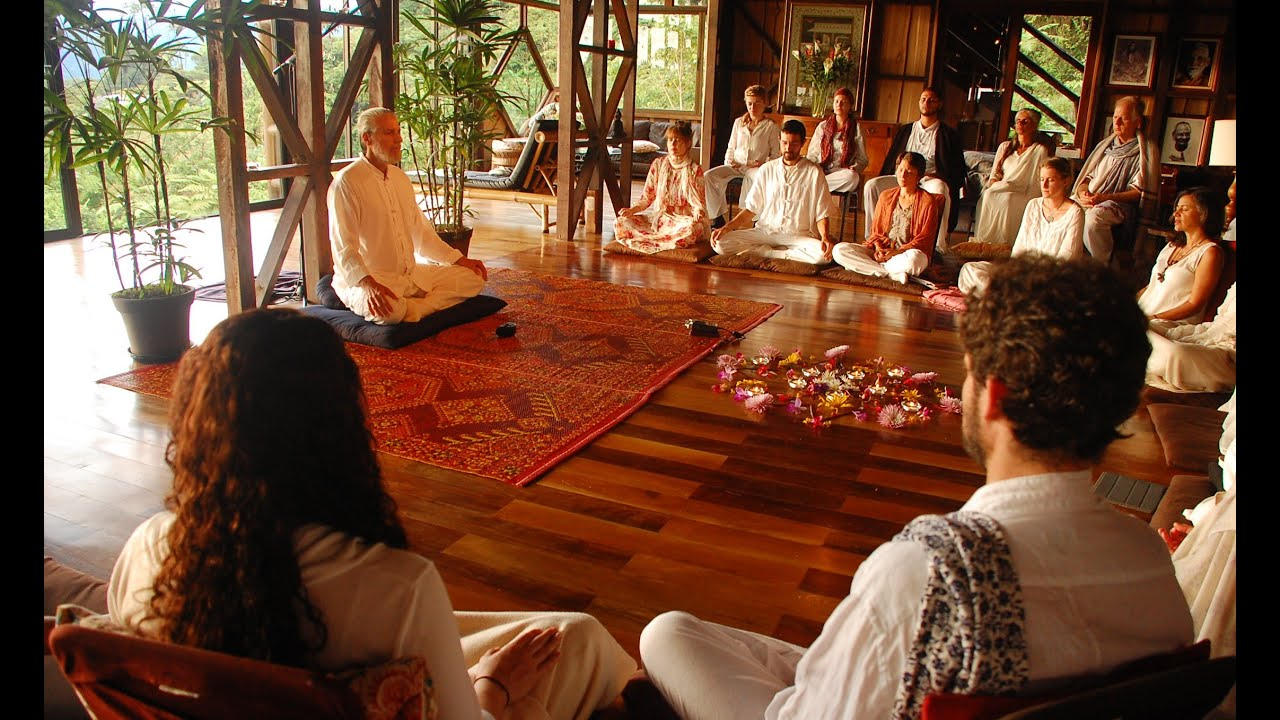 sat yoga spiritual retreat youtube