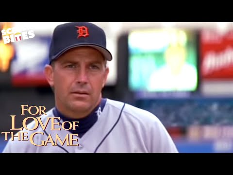 "For Love Of The Game:  ""What's he looking at?"" epic baseball scene (ft. Billy; Kevin Costner)"